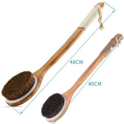 Eco-Friendly Bathroom Wooden Massage Shower Brush Wood