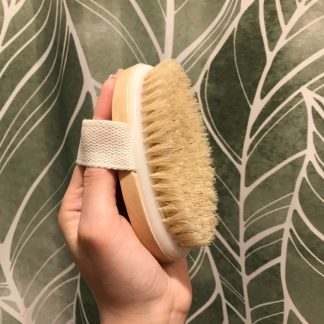 Eco-Friendly Bathroom Wooden Shower Hand Brush Wood