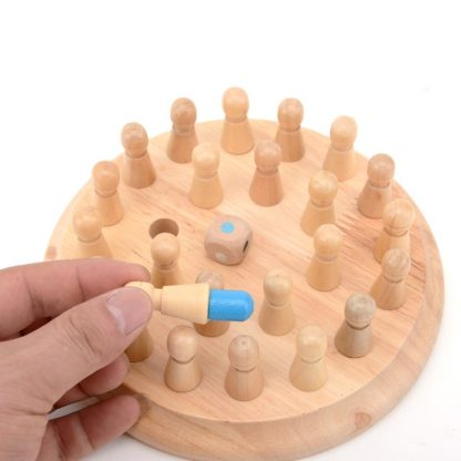 Gift Ideas Multicolored Wooden Memory Toy for Children