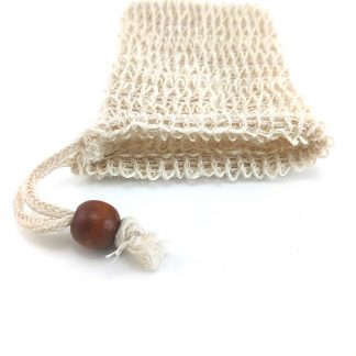 Eco-Friendly Bathroom Sisal Hemp Double-layer Net Soap Glove/Bag
