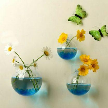 Home & Garden Hanging Glass Ball Vase