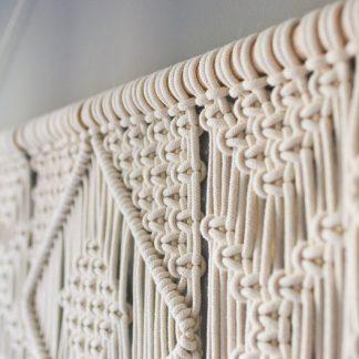 Eco-Friendly Bathroom Elegant Macrame Tapestry Hanging Wall 100%