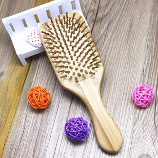 Eco-Friendly Bathroom Wooden Anti-static Hair Comb Brush