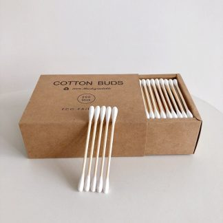 Home & Garden Eco Friendly Double Head Bamboo Cotton Buds Bamboo