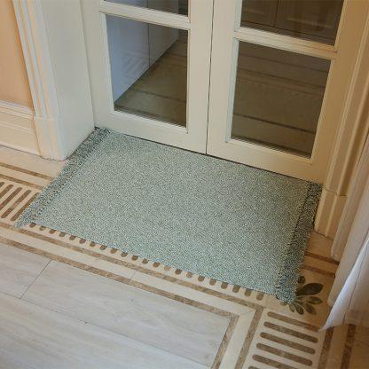 Home & Garden Hand Woven Cotton Linen Retro Style Carpet Cotton