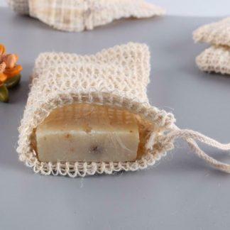 Sisal Hemp Double-layer Net Soap Glove-Bag
